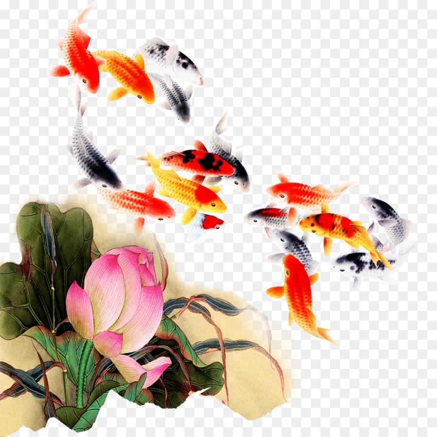 Koi fish computer file kam fish lotus png download 10001000 koi fish computer file kam fish lotus izmirmasajfo