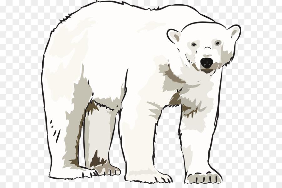 polar bear american black bear clip art winter bear cliparts png rh kisspng com polar bear clip art printable polar bear clipart cute