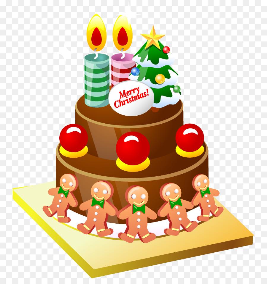 christmas cake birthday cake cupcake clip art vector cartoon cake
