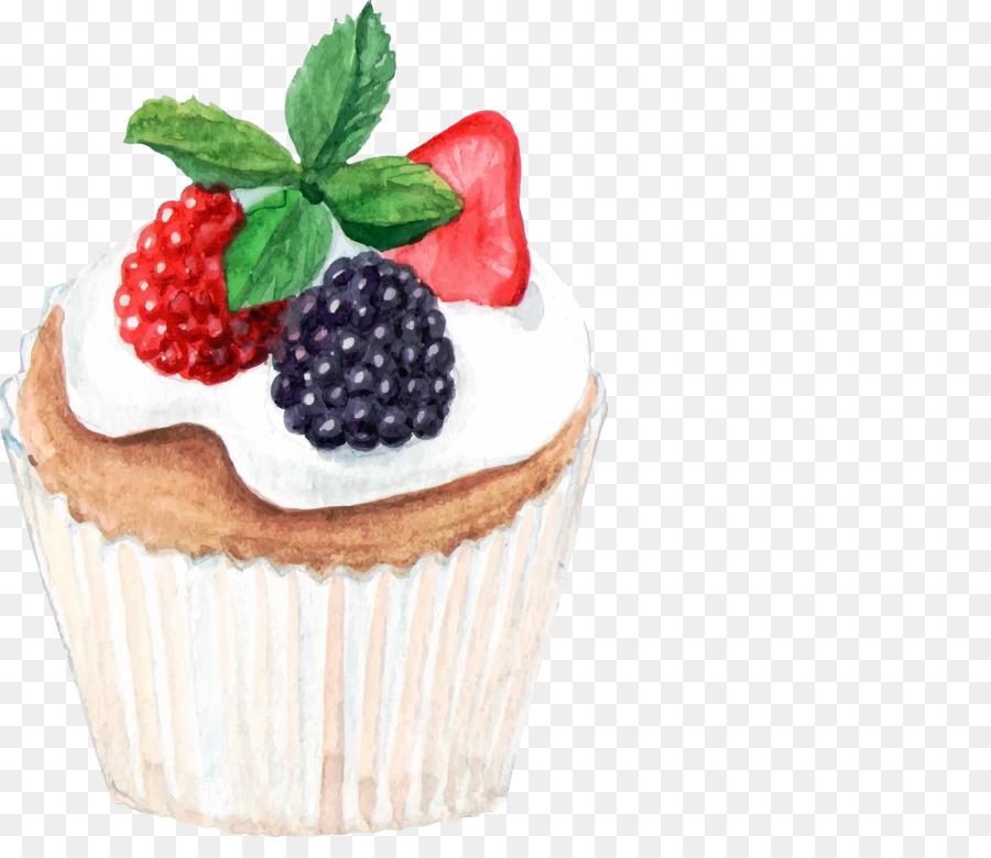 Cupcake Fırın Boyama El Pasta çizilmiş Png Indir 26312225