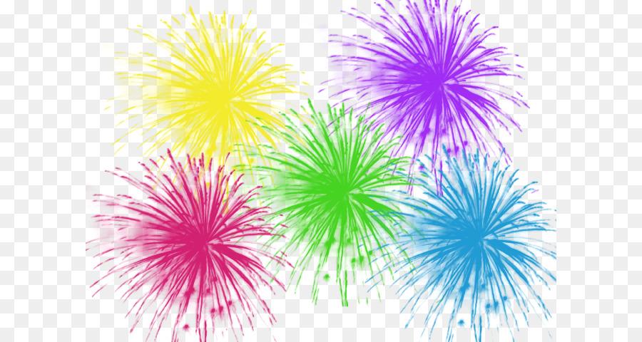 Firework celebration. Fireworks background png download