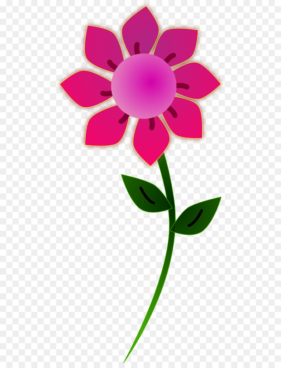 Pink Flowers Clip Art Frog Prince Clipart Png Download 5551164