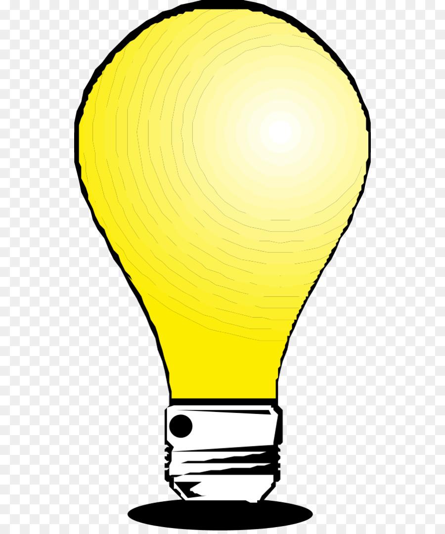 Incandescent Light Bulb LED Lamp Clip Art