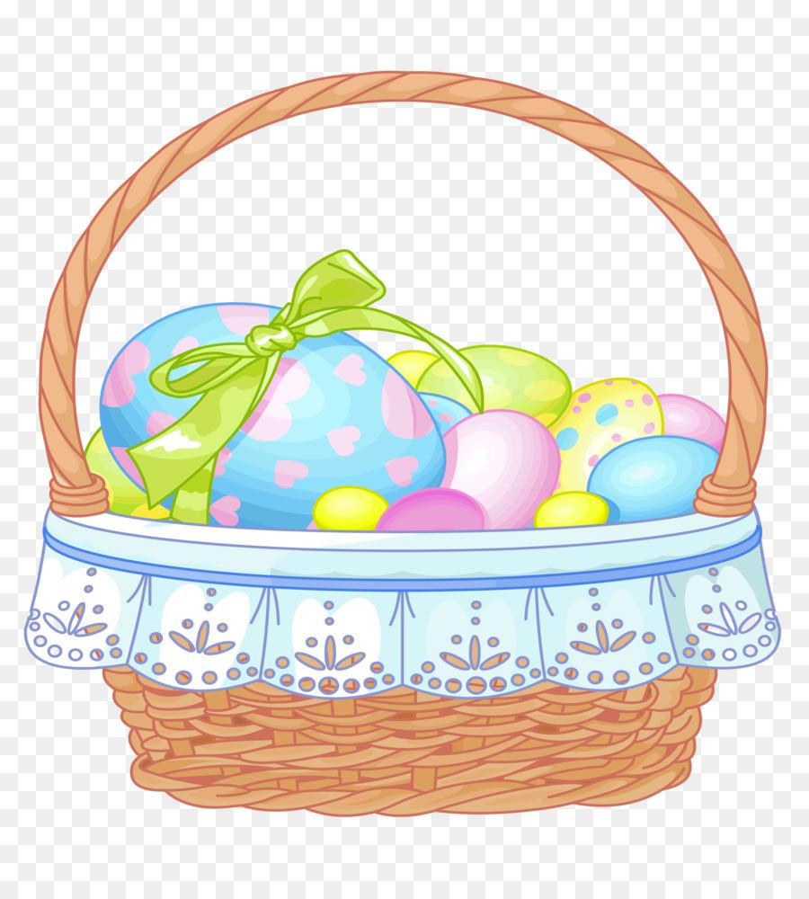 easter bunny easter basket clip art easter basket clipart png