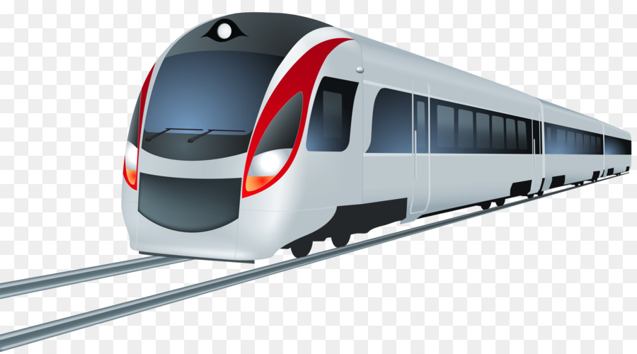 Bullet train, high speed rail, emu, high png and psd file for.
