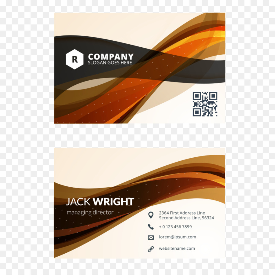Business Card Design Business Cards Flat design - Creative cards ...