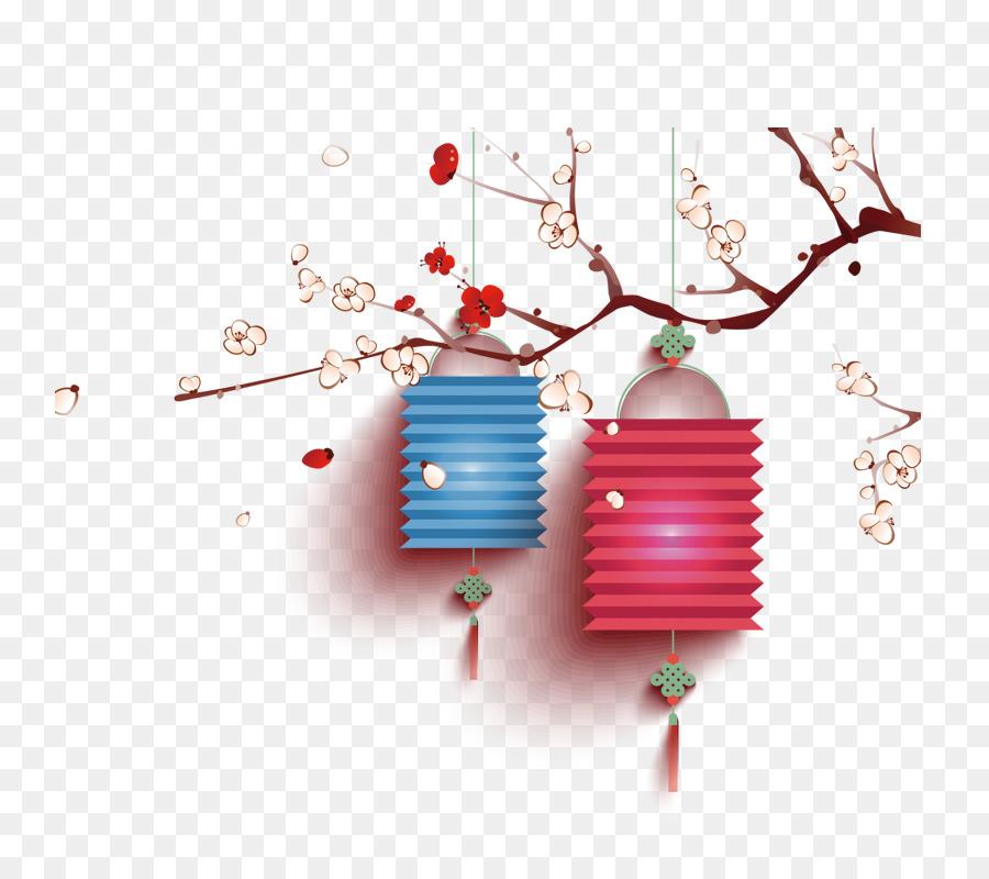 Chinese New Year New Year\'s Day Korean New Year Health - Lantern ...