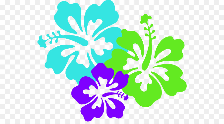 Hawaiian Maui Flower Clip Art Hibiscus Flower Template Png