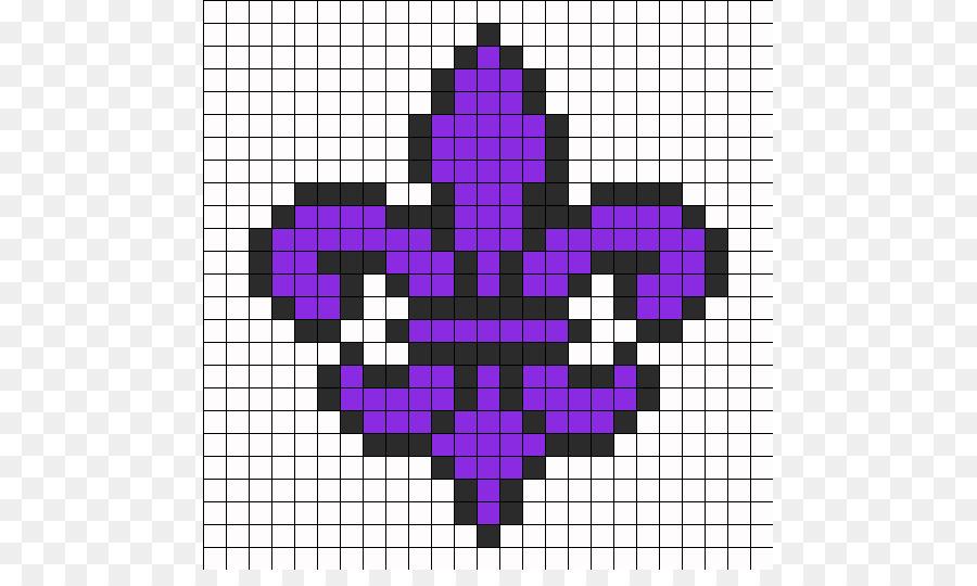 Fleur De Lis Bead Crochet Pattern Fleur De Lis Patterns Png