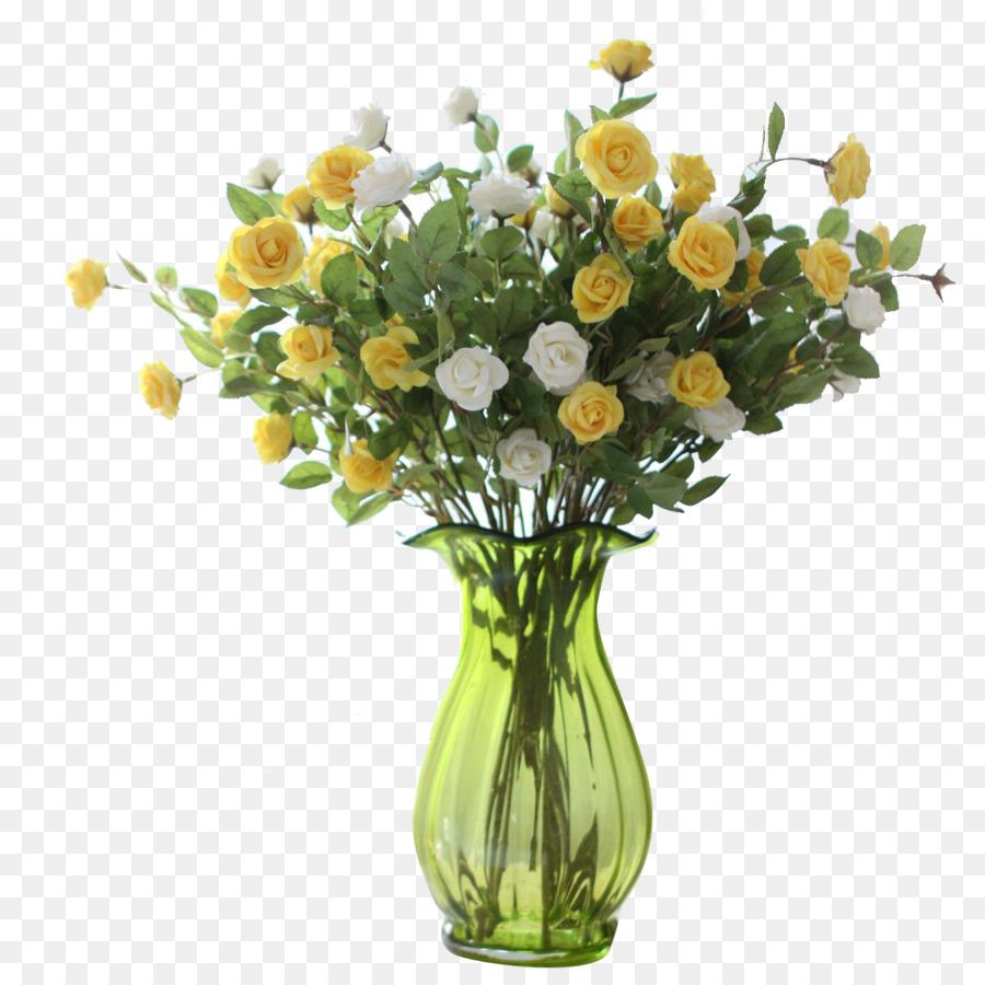Floral design Vase Glass Flower - Bottle plant flowers png download ...