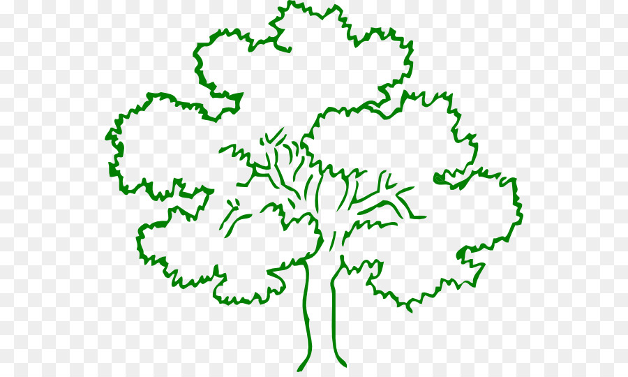 Tree Black And White Oak Drawing Clip Art