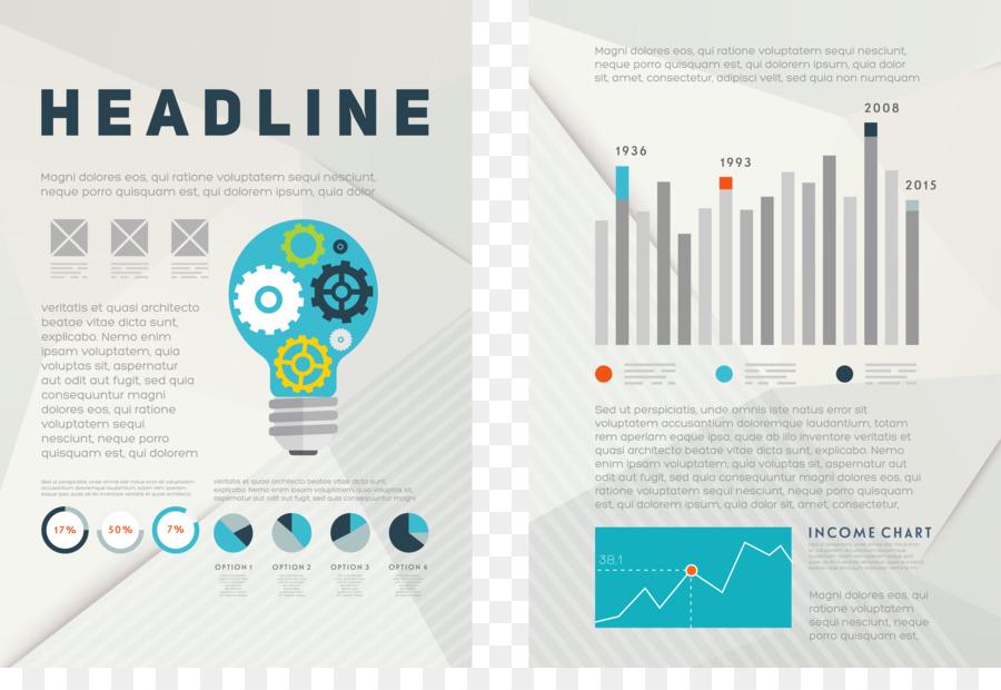flyer template brochure infographic vector design simple single alum