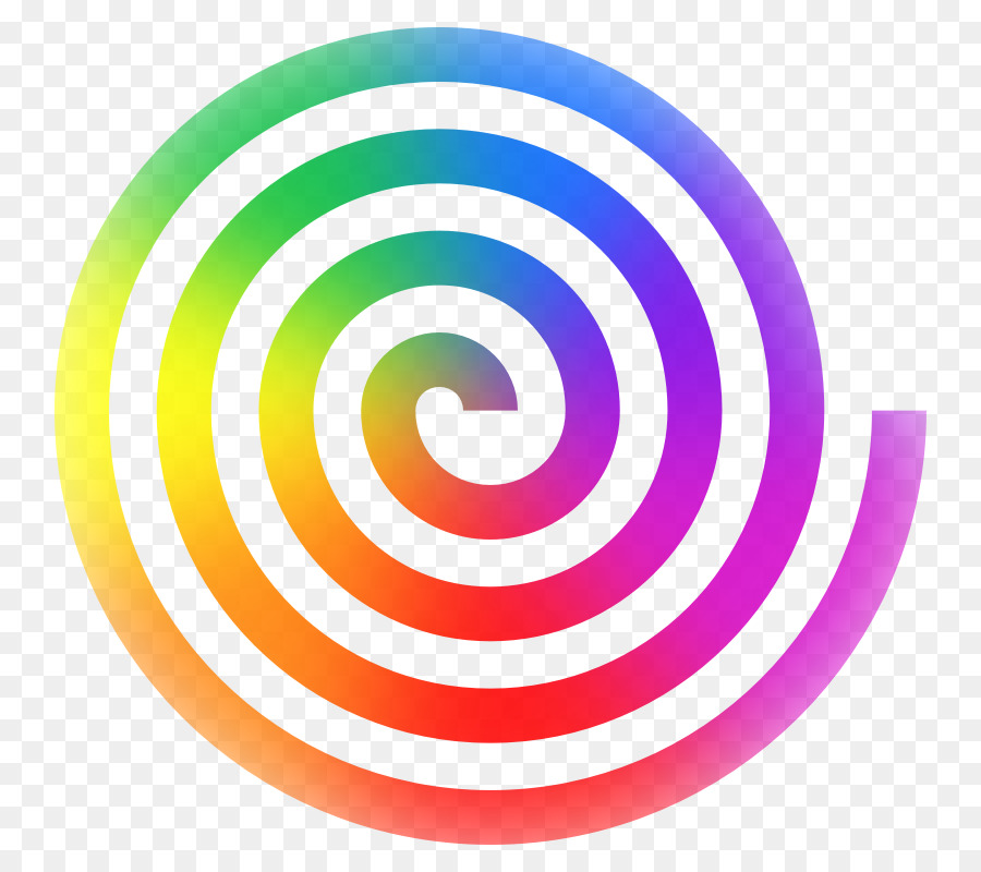 spiral rainbow clip art spiral cliparts png download 800 800 rh kisspng com swirl clipart header spiral clip art free download