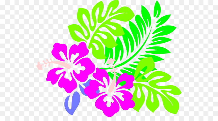 Cuisine Of Hawaii Hawaiian Clip Art Hibiscus Flower Template Png