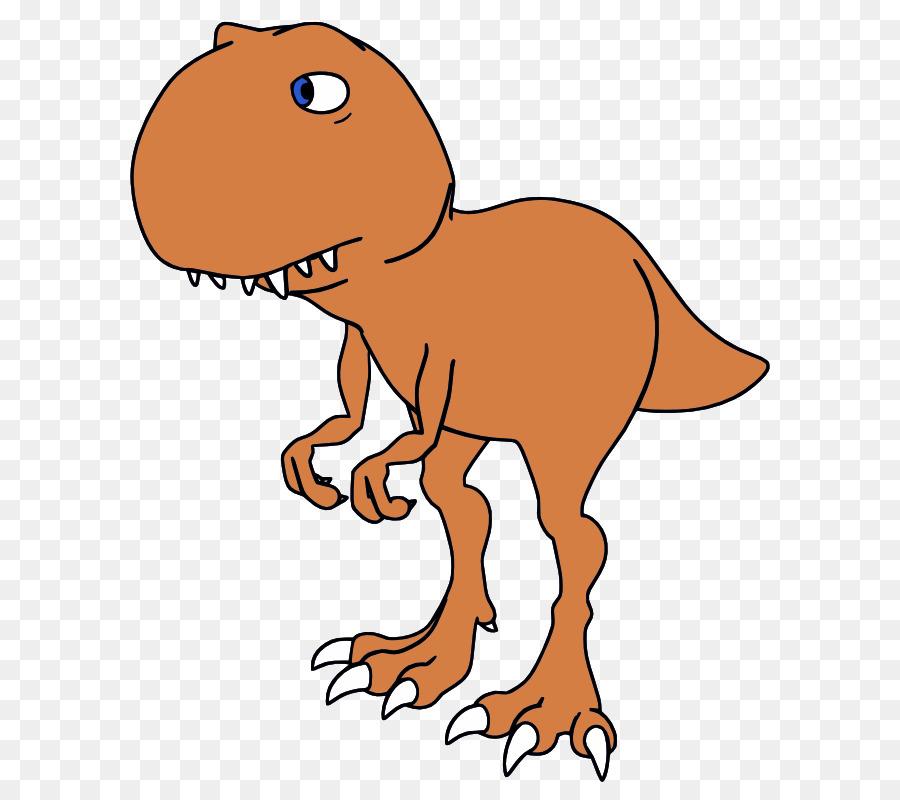 Tyrannosaurus Rex De Dibujos Animados De Dibujo De Dinosaurios Clip