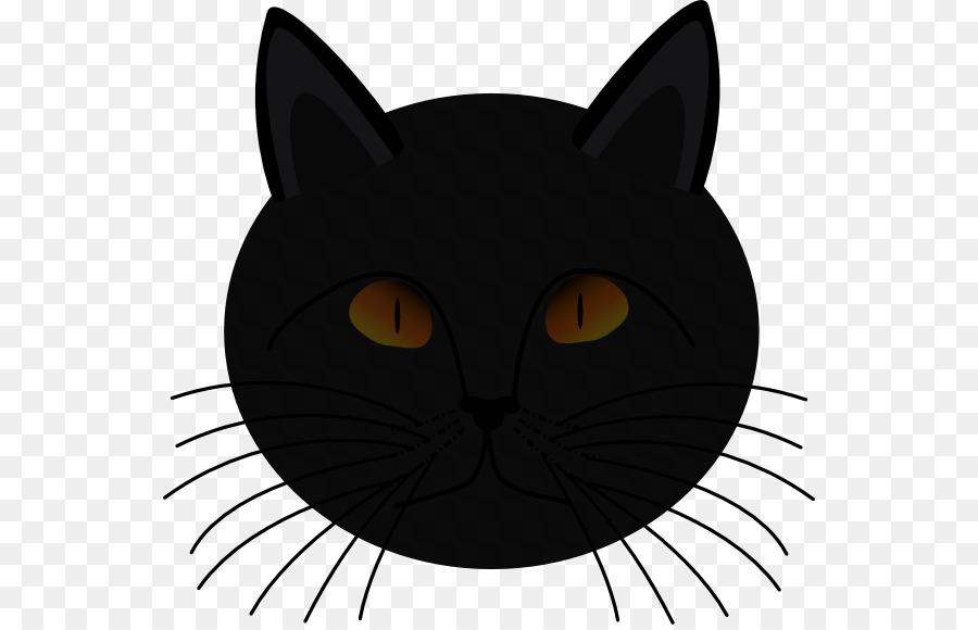 Black Cat Kitten Clip Art