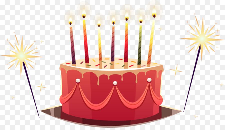 Kue Ulang Tahun Tart Wedding Cake Vektor Kartun Dicat Kue Unduh