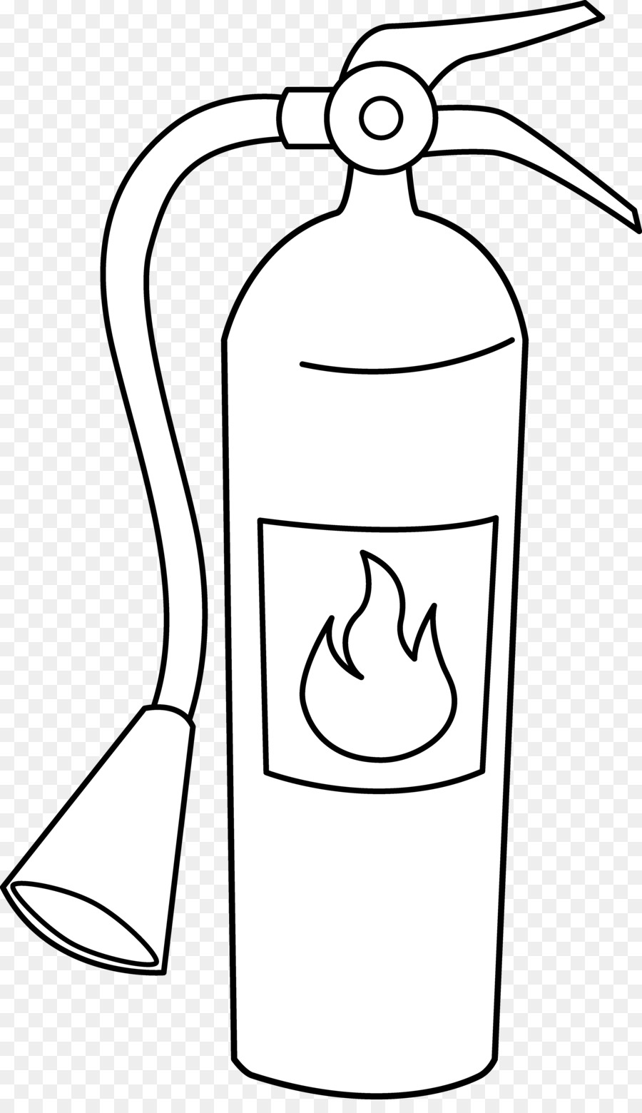 Fire extinguisher Coloring book Fire hydrant Clip art - Fire Line ...