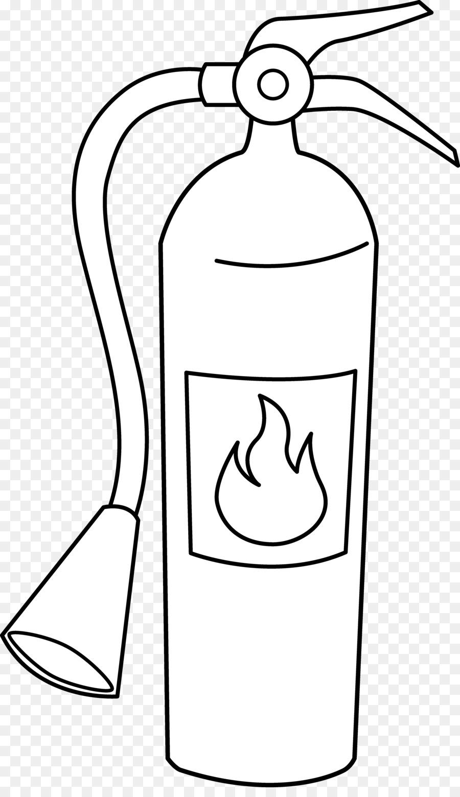Extintor de incendios libro para Colorear de un hidrante contra ...