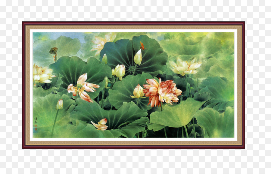 China Chinese Painting Chinese Art Bird And Flower Painting Lotus