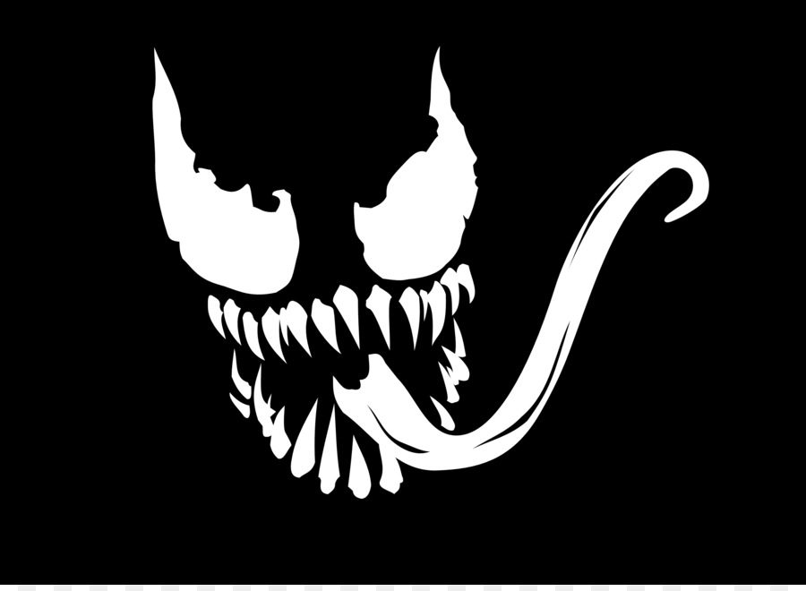 Spider Man Venom Wall Decal Sticker Venom Face Cliparts Png