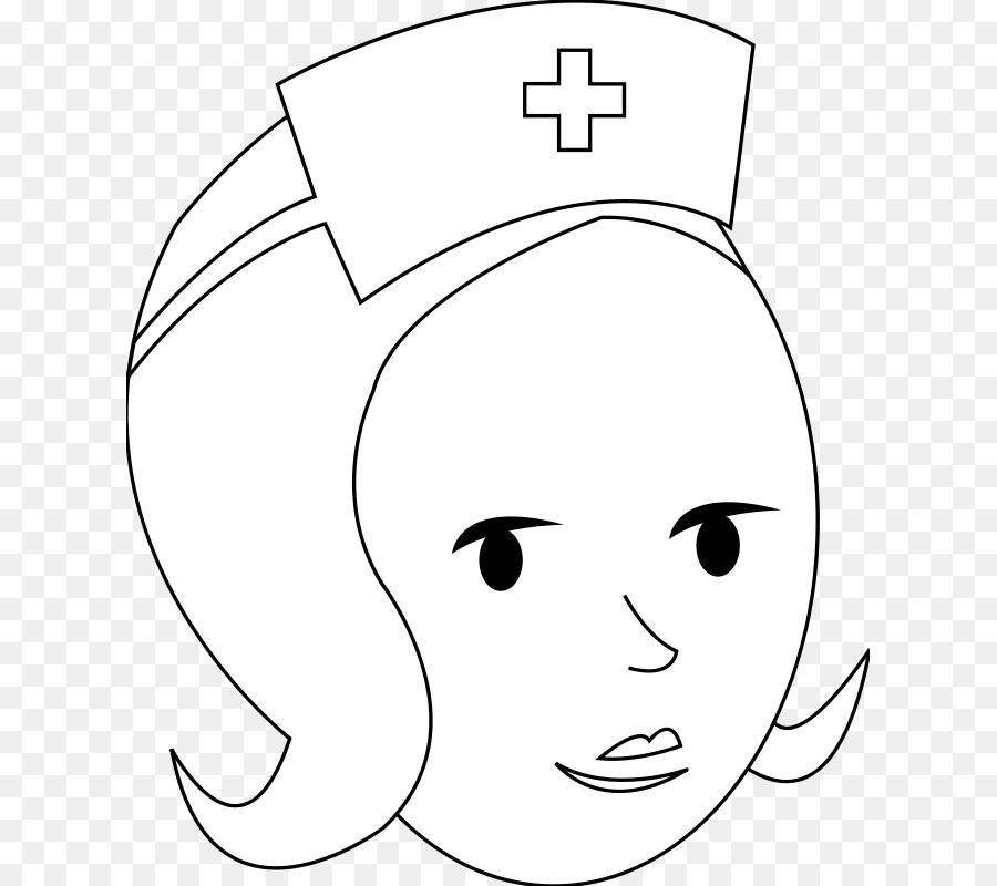 Enfermería libro para Colorear Enfermeras cap Niño Clip art - Libre ...