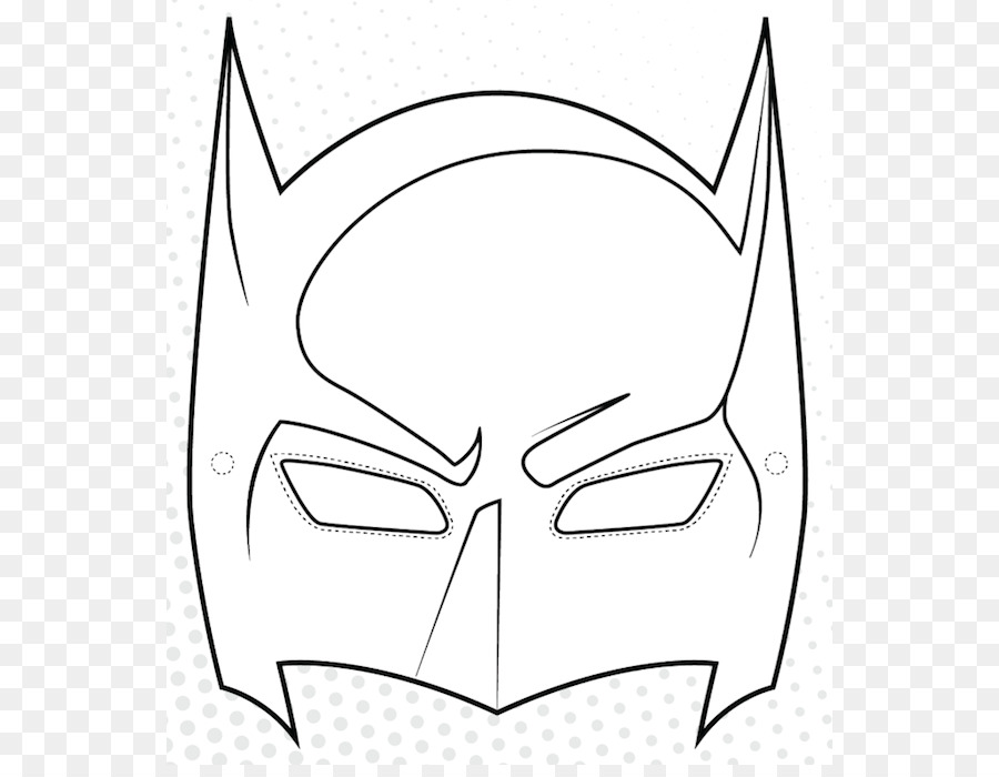 Batman la Máscara de libro para Colorear, Dibujo de Superhéroes ...