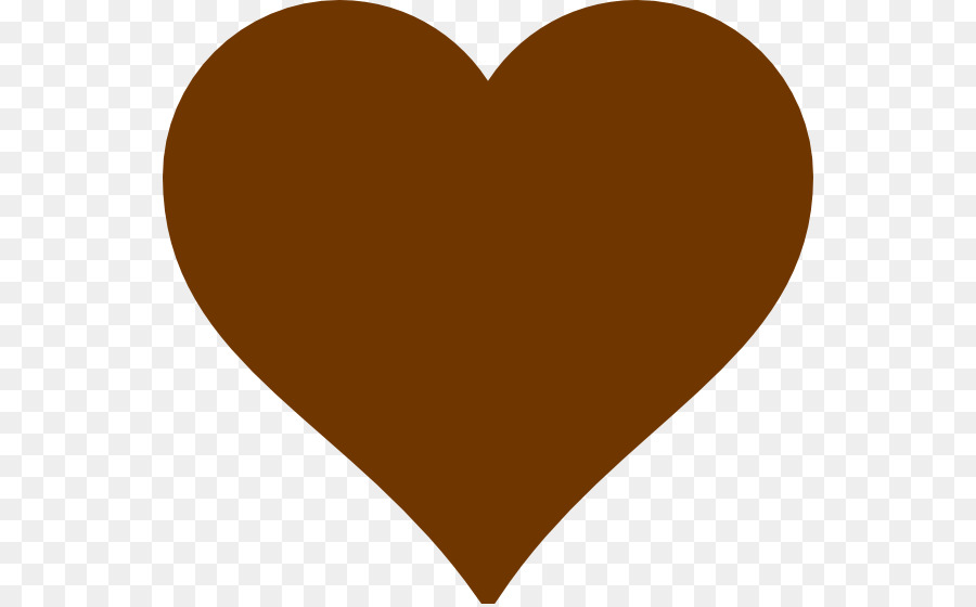 Heart Clip Art Brown Heart Cliparts Png Download 600557 Free