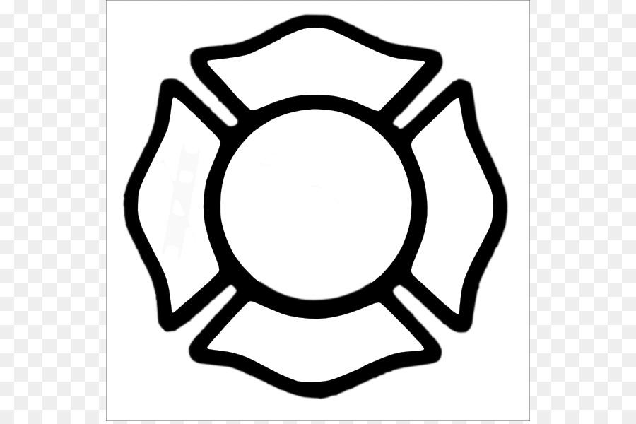 Maltese Cross Firefighter Fire Department Clip Art Pumpkin Cross