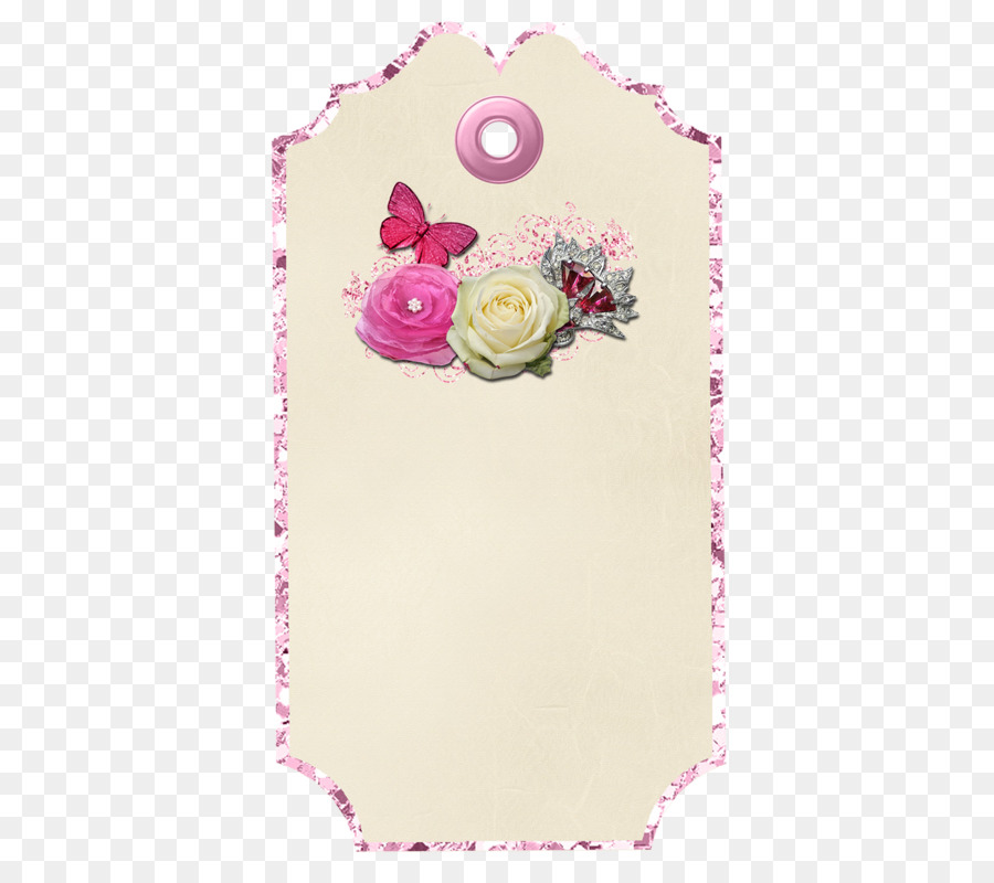 Paper Scrapbooking Picture frame - Clothes tag png download - 501 ...