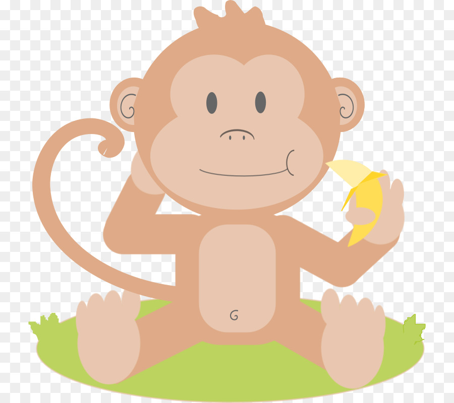 baby monkeys primate clip art cartoon picture of a monkey png rh kisspng com baby girl monkey clip art baby boy monkey clip art