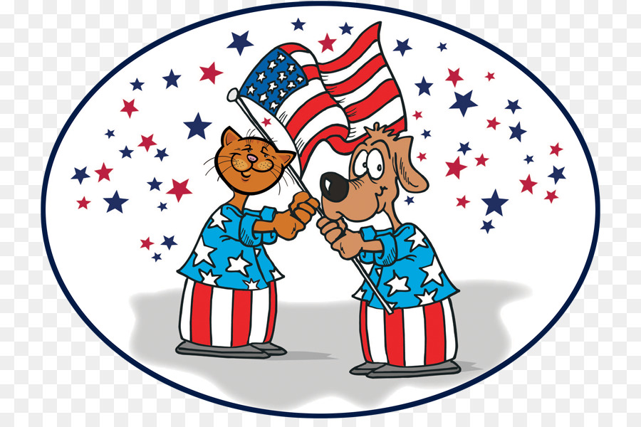 4th of july dog. Fourth background png download