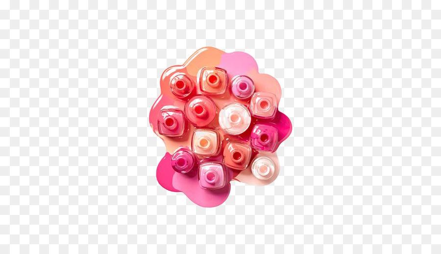 Esmalte De Uñas De Belleza - Color libre de la botella de hebilla de ...
