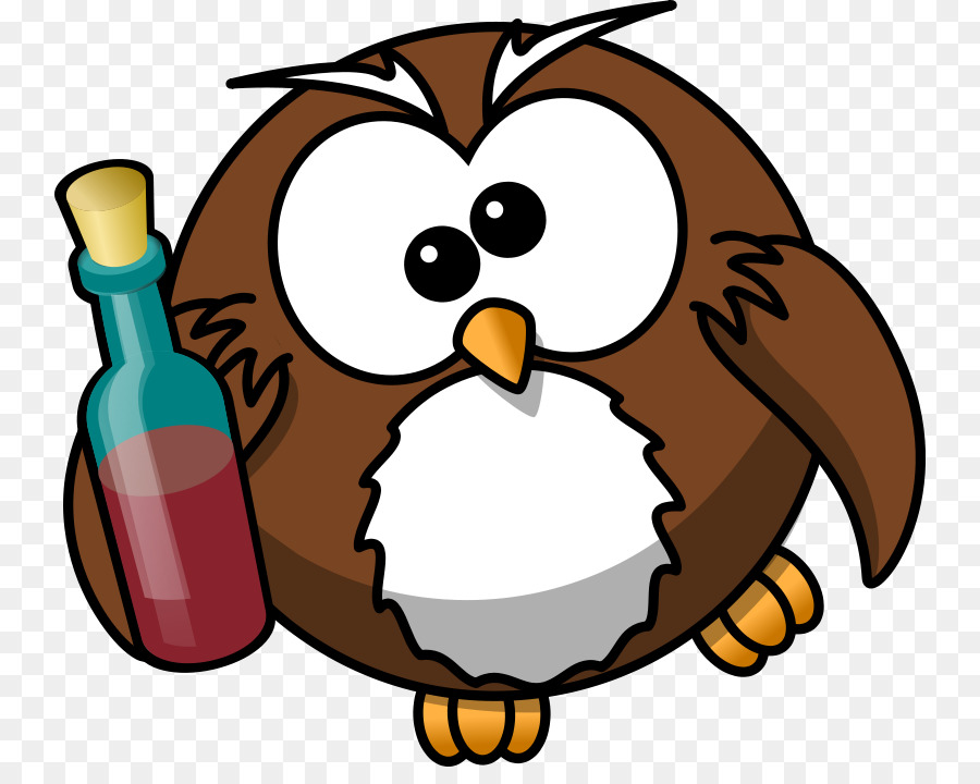 Owl Bird Cartoon Clip Art
