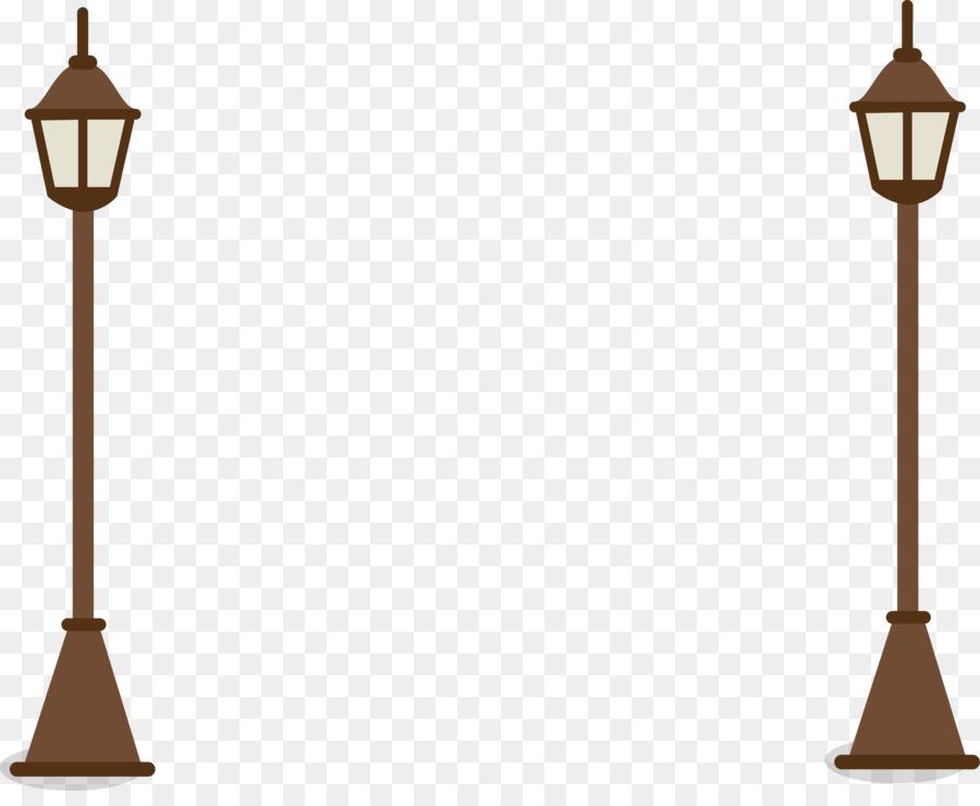 Street Light Cartoon Drawing Lamp