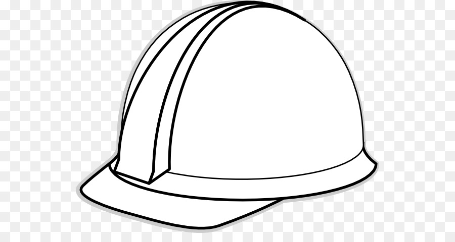 hard hat black and white clip art construction hat