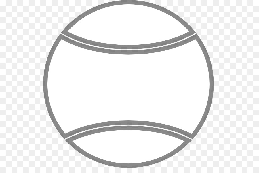 Coloring Book Tennis Balls Sport Game Tennis Ball Outline Png - Game outline