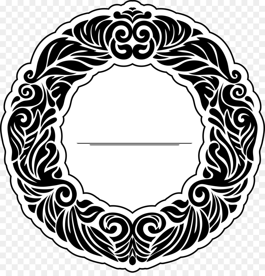 88c6a143a T-shirt Ivory Ella Clip art - Black plant circle png download - 1500 1548 -  Free Transparent Tshirt png Download.