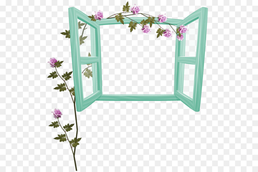 Window Picture Frames Download - Green fresh window with flowers ...