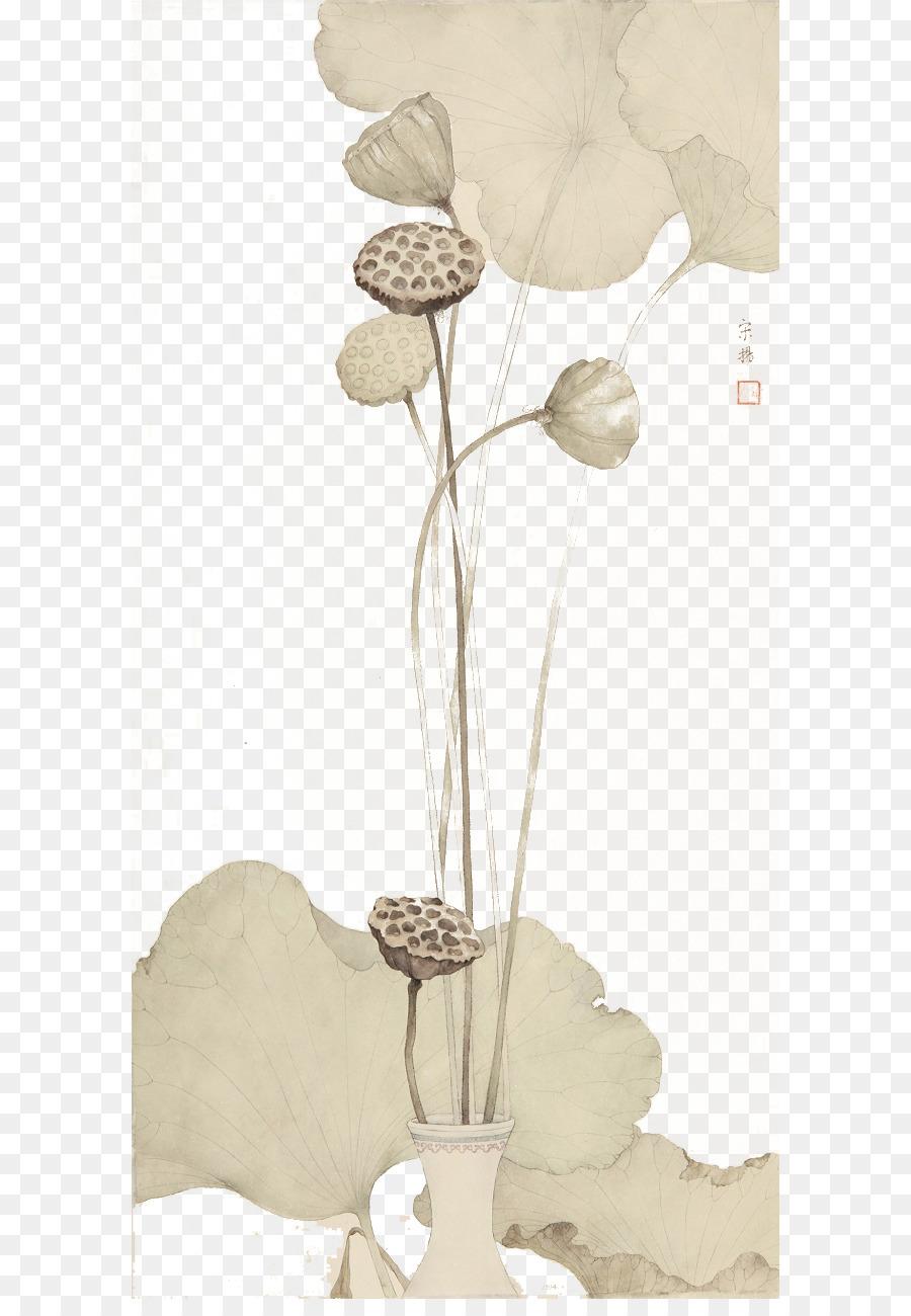 Gongbi Mürekkep Boyama çin Resim Suluboya Resim Mürekkep Fırça