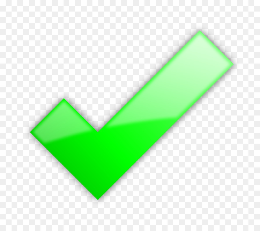 Check Mark Clip Art Green Tick Mark Png Download 800800 Free