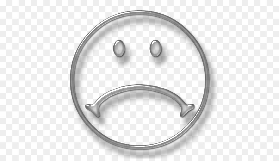 Sadness Smiley Emoticon Computer Icons Clip Art Bladk And White