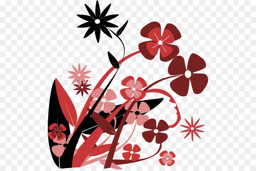 Flower Winter Clip Art Cartoon Spring Flowers Png Download 564
