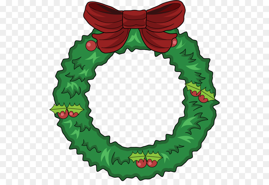 Christmas wreath cartoon. Elf png download free