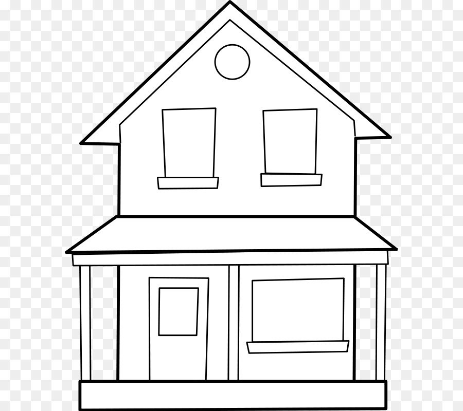 Drawing Line Art House Clip Art   Free House Photos