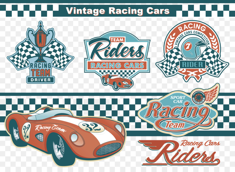 Stock car racing Auto racing Motorsport - Vintage Racing and related marks  png download - 1686*1203 - Free Transparent Car png Download.
