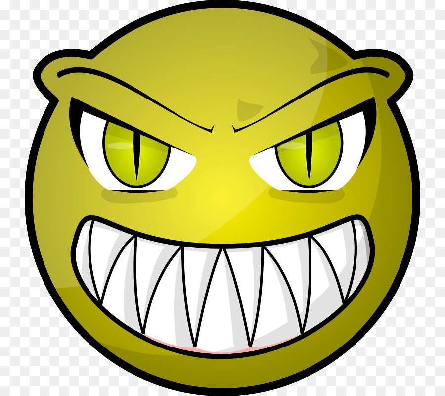 cartoon face smiley clip art scary monster cartoon png download rh kisspng com scary cartoon faces images spooky cartoon faces