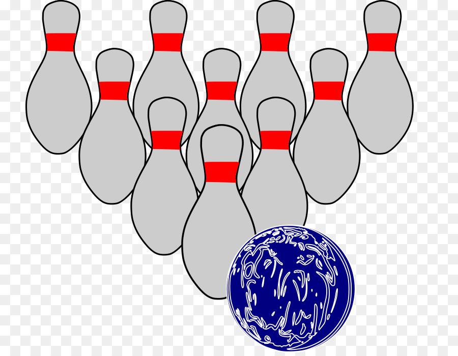 Bowling Pin Ten Pin Bowling Clip Art Funny Bowling Clipart Png