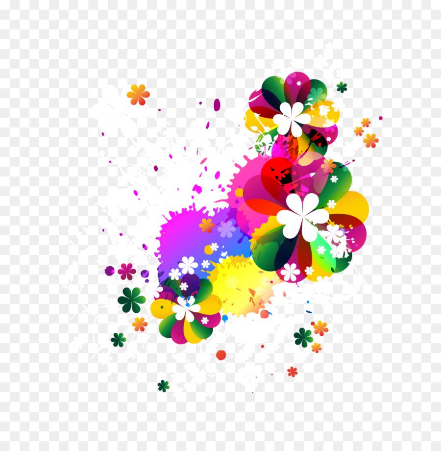 Color De Flor Clip Art Vector De Flores Png Dibujo Transparente