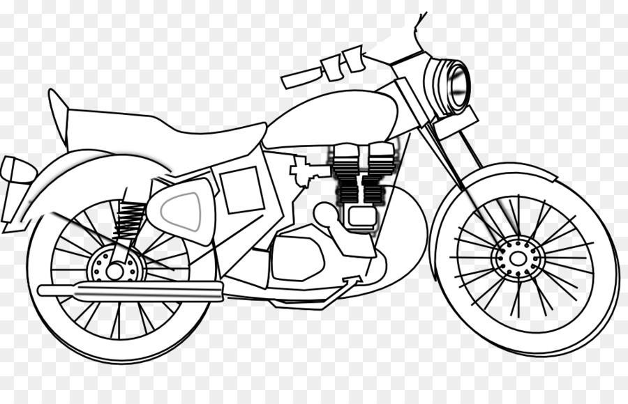 honda motorcycle clipart  Honda Motorcycle Helmets Harley-Davidson Clip art - Black And White ...